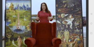 """Entrevista sobre """"El jardín de las delicias"""", de Hieronymus Bosch, en el capítulo """"Emoción"""" del programa """"This is art"""""""